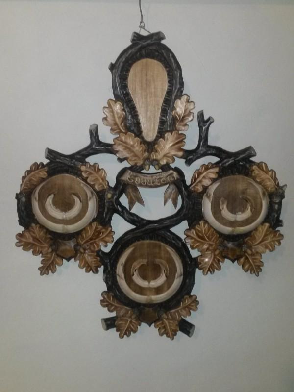 Ručne vyrezávané kombinované podložky