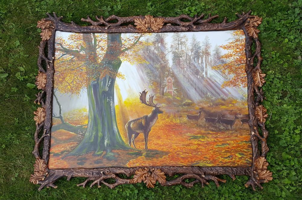 Ručne vyrezávané rámy na obrazy